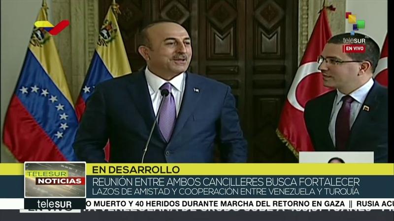 Venezuela y Turquía firman acuerdos para fortalecer sus relaciones