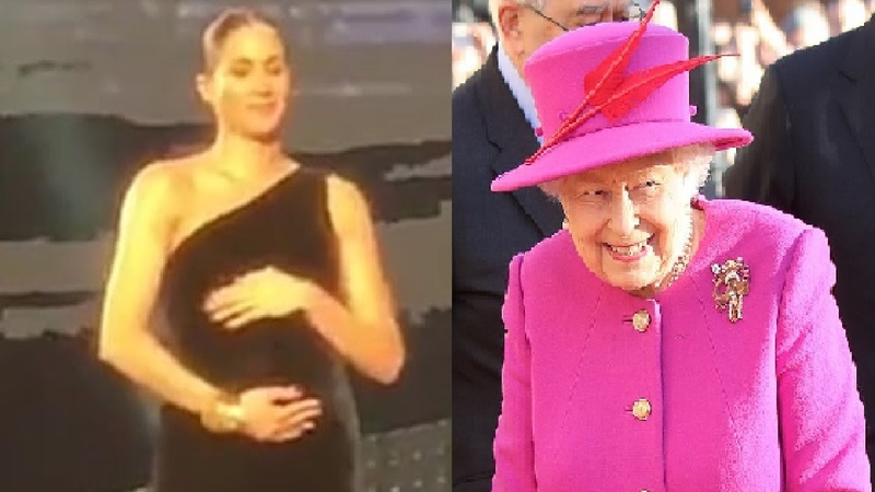 Duchess Meghan Surprised By Energetic Kick From Her Baby At British Fashion Award The Queen Visit