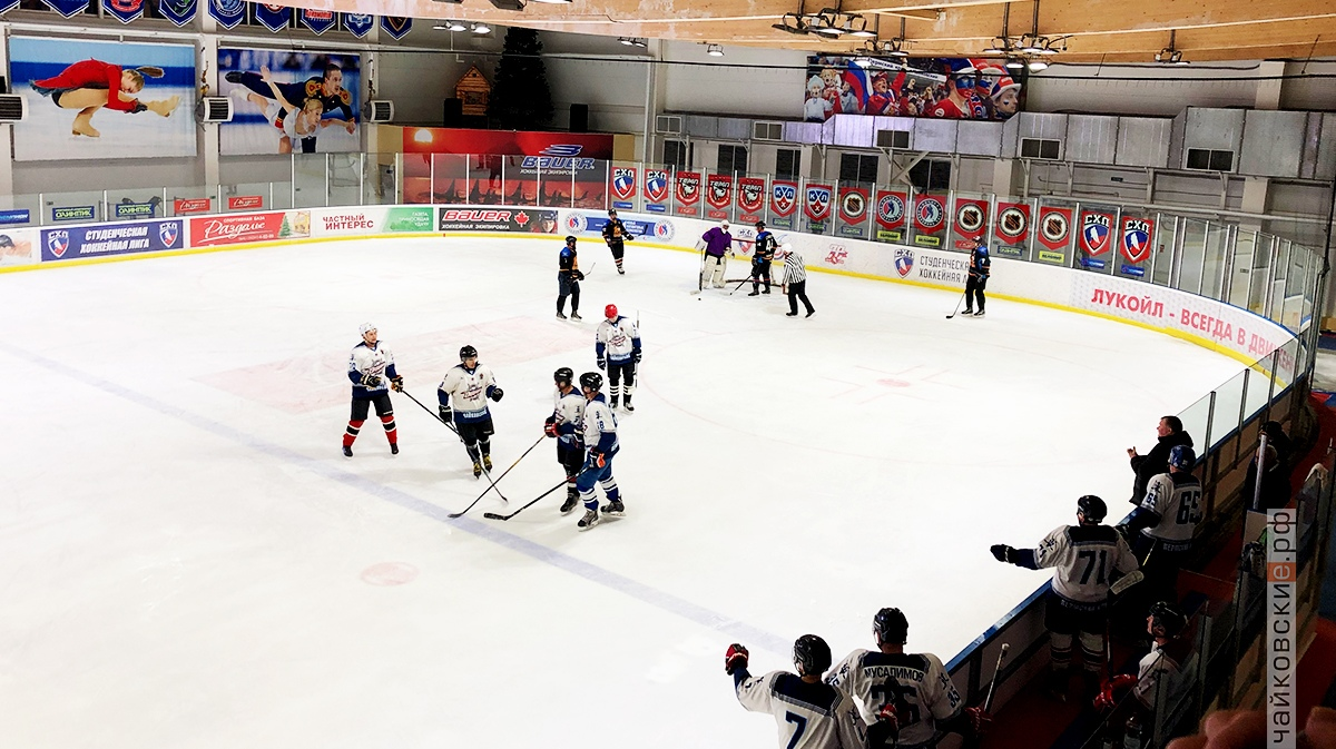 ночная хоккейная лига, чайковский район, 2019 год