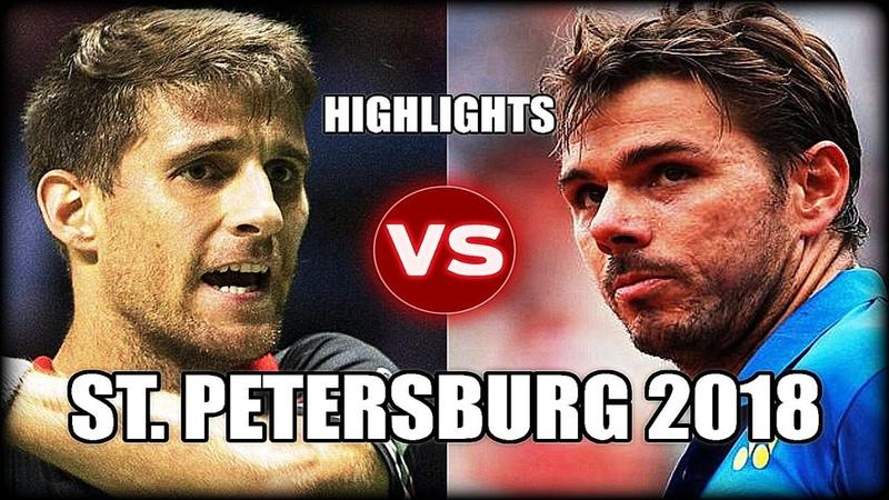 Stan Wawrinka vs Martin Klizan ST. PETERSBURG 2018 Highlights
