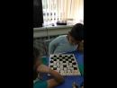 Игры в шашки и шахматы. Лагерь ,, Газовик,, 2018.