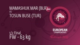 Semifinal FW - 63 kg Maryia MAMASHUK (BLR) df. Buse TOSUN (TUR) by FALL, 4-0