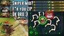 ZIP FILE PUDGE Highlights [SNIPER MID? OK BRO!))] Dota 2