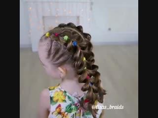 Очень красивая причёска