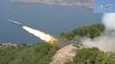 ✔ Стрельбы в Чёрном море фрегата Адмирал Макаров и берегового ракетного комплекса Утес.