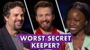 Marvel Studios' 'Avengers: Endgame' Stars Reveal Secrets from Set | Earth's Mightiest Show