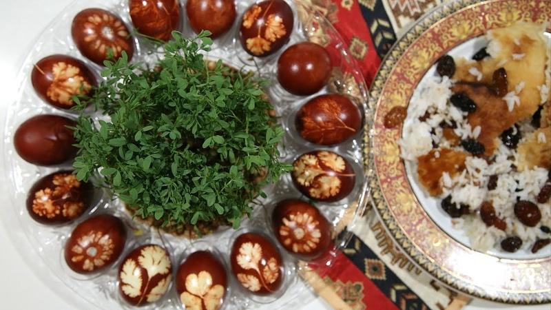 Ինչպես Ներկել Զատիկի Ձուն Հեղինե Short Clip Heghineh Cooking Show in Armenian
