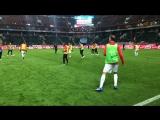 Разминка команд перед матчем «Локомотив» - «Ахмат»