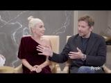 Интервью Леди Гаги и Брэдли Купера для «People» (Торонто)