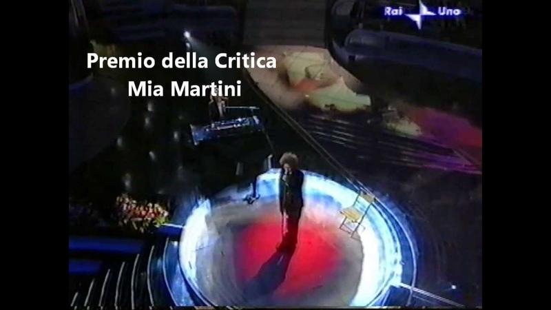 Simone Cristicchi in Ti regalerò una rosa con Sergio Cammariere Premio della Critica Mia Martini