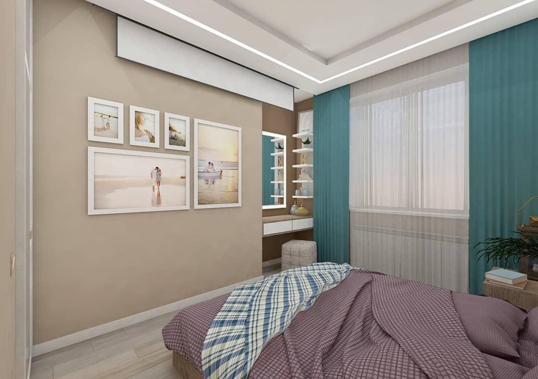 Спальня 9,3 м.