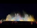 Поющий фонтан Монжуика.Барселона