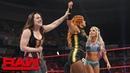 Becky Lynch teams with Nikki Cross Alexa Bliss: Raw, May 20, 2019