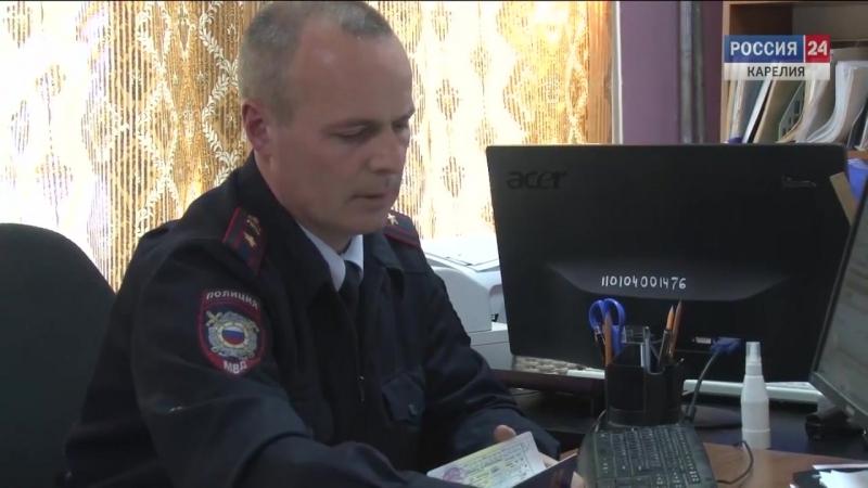 Сотрудник ОМВД России по Медвежьегорскому району Павел Долгих