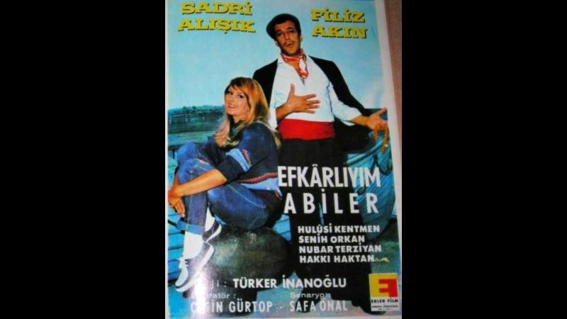 Efkarlıyım Abiler _ Filiz Akın, Sadri Alışık _ Siyah Beyaz Türk Filmi