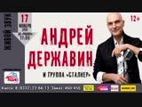 Концерт Андрея Державина 17 ноября