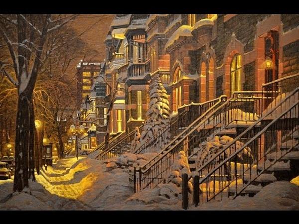 РОЖДЕСТВЕНСКИЙ ноктюрн Ричарда Савойе. Christmas Nocturne by Richard Savoie