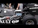 Renault F1 RE40 V6 Turbo 1983 Cold start up sound