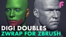 How You Make Digi-Doubles Fast - ZWrap for ZBrush