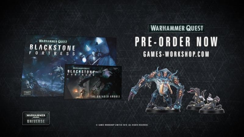 Blackstone Fortress The Dreaded Ambull Pre order Now