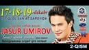 Jasur Umirov - Sensiz yurak sarson nomli konsert dasturi (2-qism)