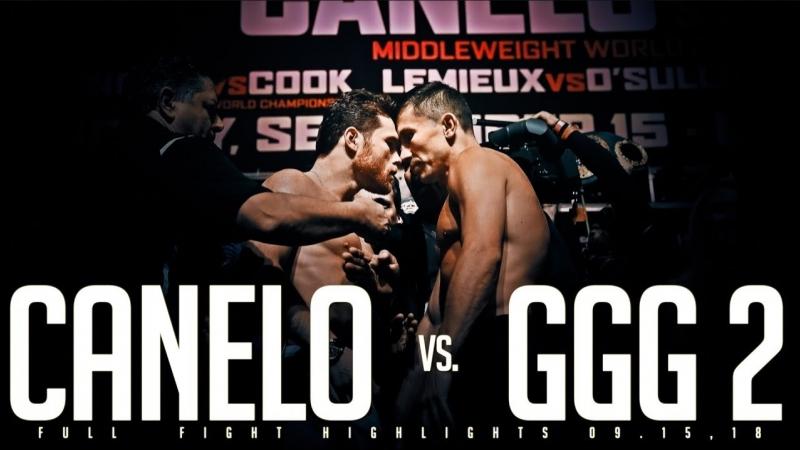 Gennady GGG Golovkin vs Saul Canelo Alvarez 2 Full Highlights