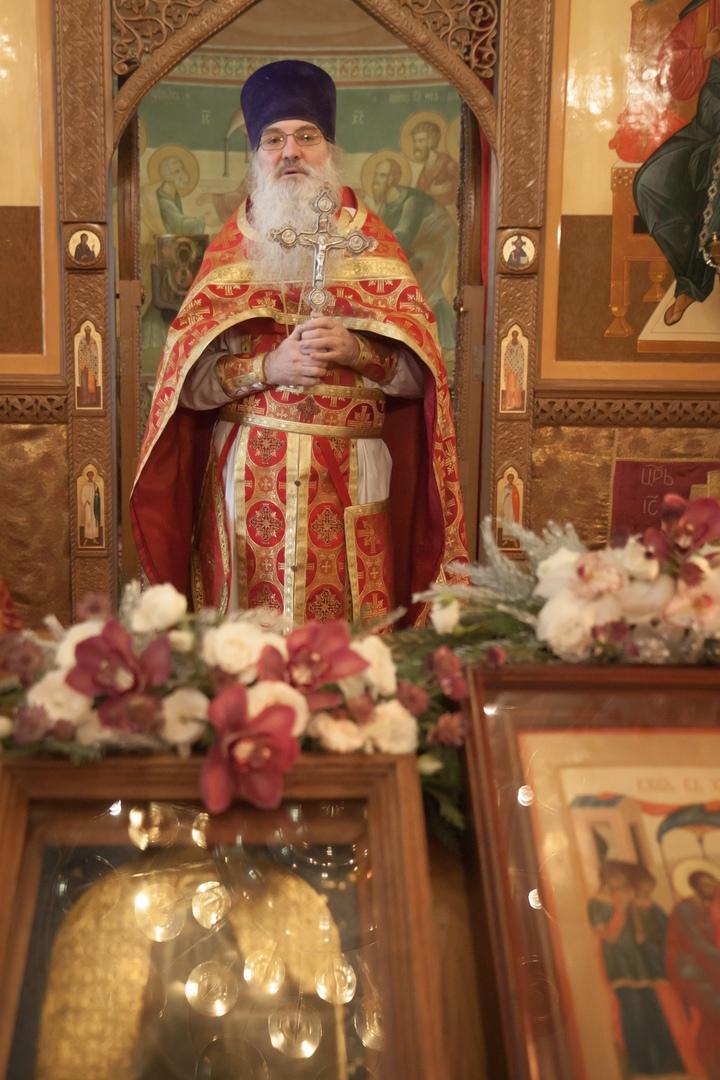 Престольный праздник в храме святых Космы и Дамиана