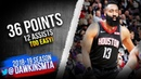 James Harden Full Highlights 2019.04.02 Rockets vs Kings - 36 Pts, 12 Asts!   FreeDawkins