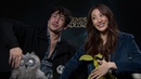 Ezra Miller Claudia Kim on Fantastic Beasts: The Crimes of Grindelwald