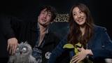 Ezra Miller &amp Claudia Kim on Fantastic Beasts The Crimes of Grindelwald