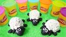 PlayDoh Schule. Wir machen ein Schaf. Video für Kinder