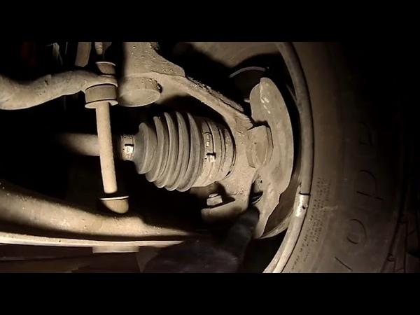 Проверка шаровых опор и рулевых наконечников на Ланосе