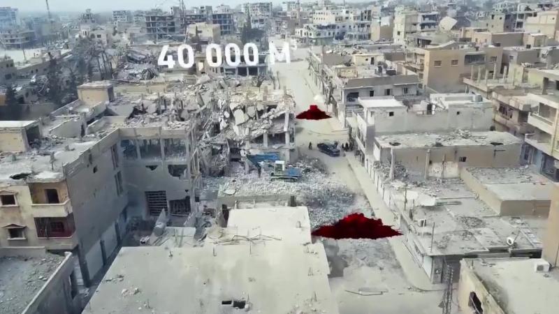 Видео начинающих и законченных проектов в городе Ракка.