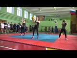 Выступление на открытом турнире в ДВОКУ. Руслан, Аня и Маша