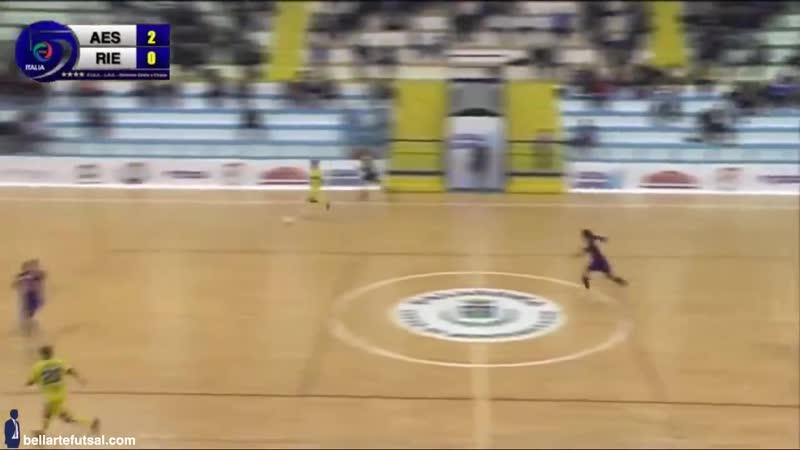 образцовый выход из-под прессинга (futsal, futbol sala)