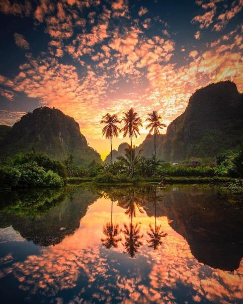 Рамманг-Рамманг, Сулавеси, Индонезия