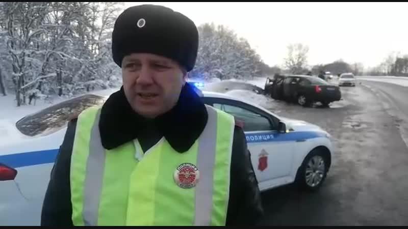 ДТП в деревне Пружицы,12.01.2019г.