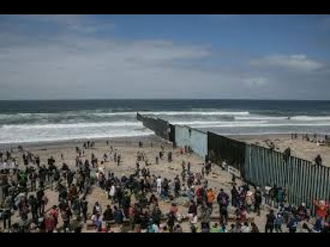 Migrant Caravan First Wave Of Illegal Immigrants Reach US-Mexico Border (Full Compilation)