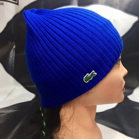 Шапка Lacoste Turned Edge Ribbed Wool Beanie RB3502   00   166 Marine. 3  000 руб. Шапка Lacoste RB3504R 9GB bd2487c99d9