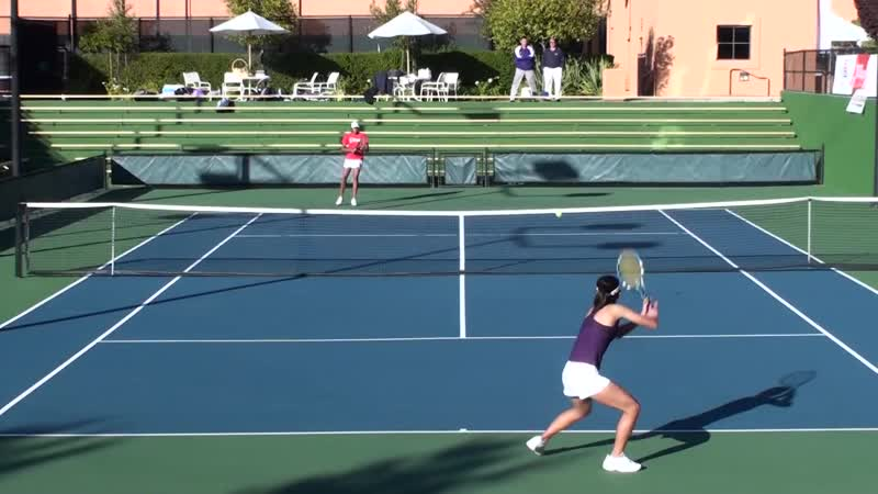 01. 20091118 CIF CCS High School Girls Varsity Team Tennis Final Monta Vista vs Saratoga part 1 of 5
