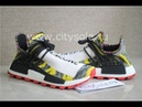 PK God Retail Version Pharrell x Adidas NMD Hu Solar Pack Core Black Red BB9527 from CitySole ru