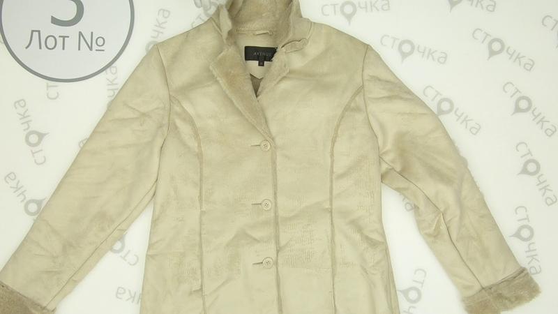 FAUX SHEEPSKIN coat Winter Mix**3 секонд хенд оптом