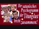 Ihr satanisches Psychogramm der Tötungslust bricht zusammen -