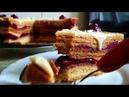 Пляцок Досконалий Медівник Торт Совершенный Медовик с заварным кремом вишневой прослойкой