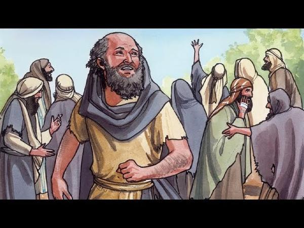 072 - Иисус исцеляет десять прокаженных