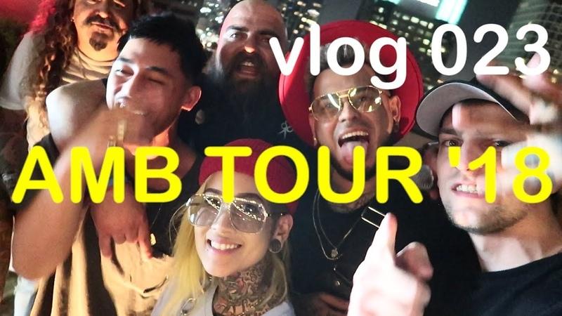 AMB Tour 18 Los Angeles Downtown Leche Yagashu vlog 23