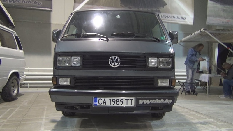 Volkswagen Transporter T3 Caravelle (1989) Exterior and Interior