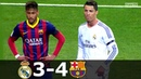 Real Madrid vs Barcelona 3-4 - La Liga 2013/2014 - Highlights (English Commentary) HD
