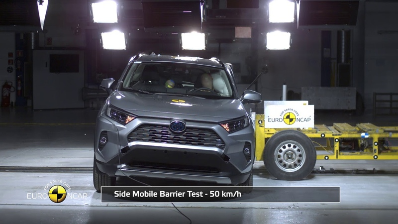 Euro NCAP Crash Test of Toyota RAV4 2019
