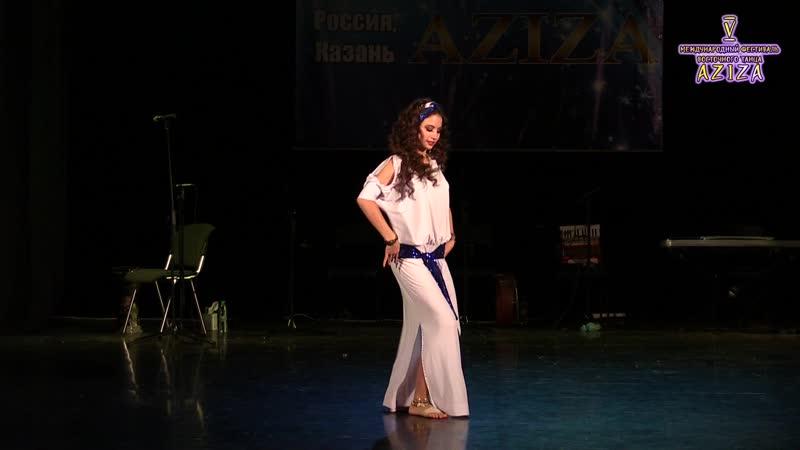 Панова Анастасия_Aziza 2018_Oriental Folk